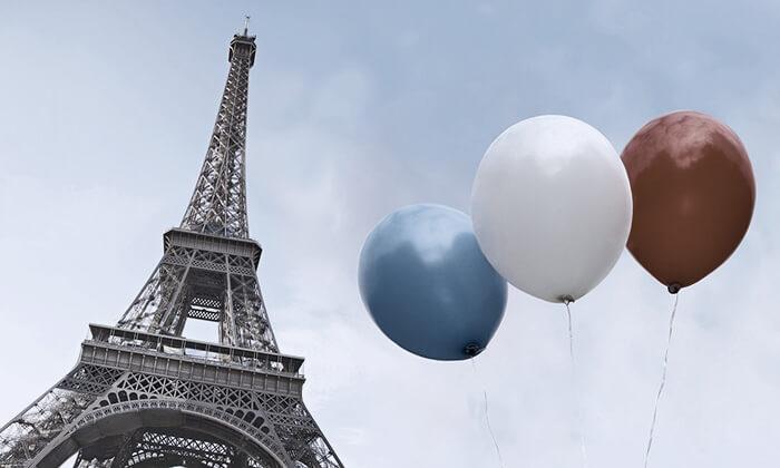 Париж: синее