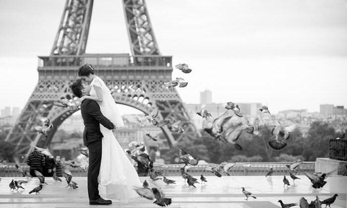 Париж: белое